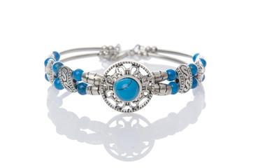 Nice bracelet isolated on white