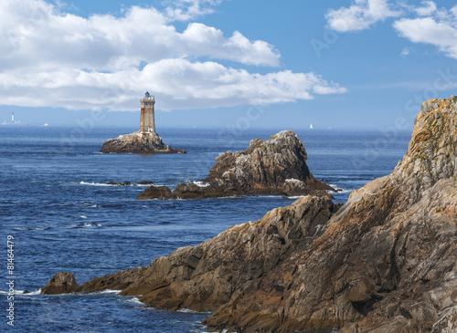 Papiers peints Cote Phare du Cap de la Pointe du Raz Bretagne