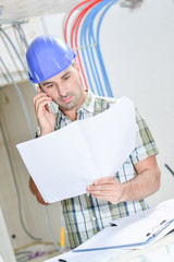 Building consulting plans on telephone