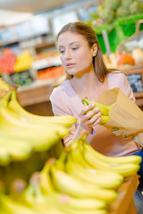 Shopping for bananas