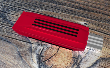 Red USB Storage