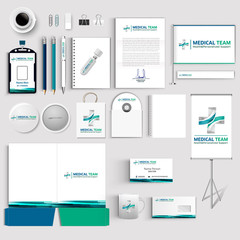 Corporate Identity Logo Medicine