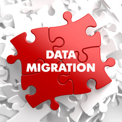 Data Migration on Red Puzzle.