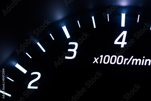 Poster Car instrument panel
