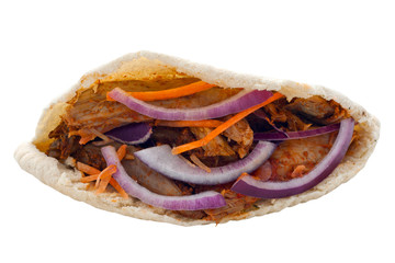 Chicken Kebab in a Pita Bread