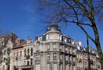 Coin de rue, Bruxelles