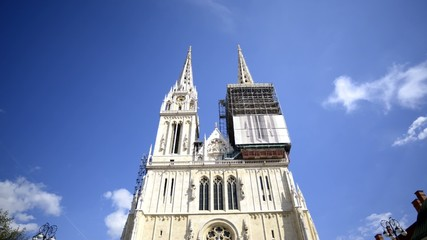 zagreb cathedral timelapse
