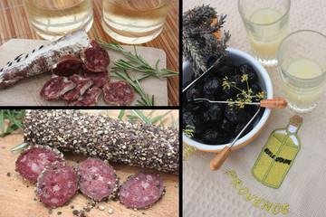 Apéro au saucisson -  Olives