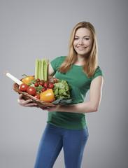 Healthy vegetables is basic of my diet
