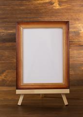 paint frame on wood