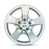 Wheel rim, vector