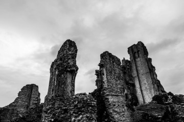 Bleak Dorset ruins