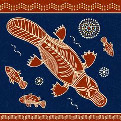 Platypus and fish