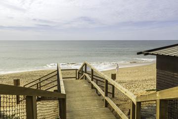Algarve  Falesia beach footpatch cliff acess
