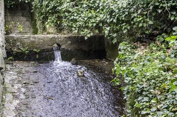 Monchique village famous fresh waters