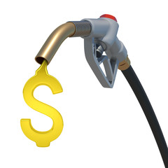 Grey hose tube with oil dollar