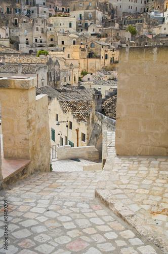 Alleyway. Sassi of Matera. Basilicata. Italy. © Mi.Ti.