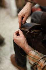 Leather Artisan workshop