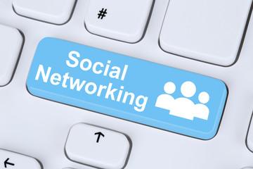 Social networking or media internet online friendship communicat