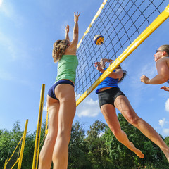 Teamsport Beachvolleyball