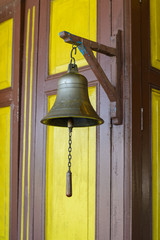 Bell in Railway station in Thailand