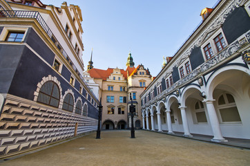 Old palace in Dresden, Germany