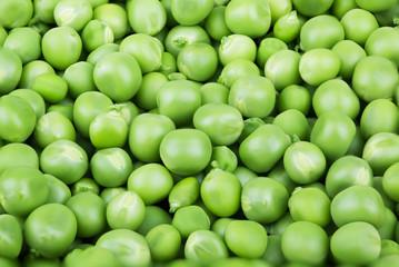 Green peas background.