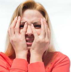 business lady, stress, despair