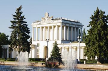 "Pavilion 64 ""Optics"" (""Leningrad""), ENEA, Moscow, Russia."