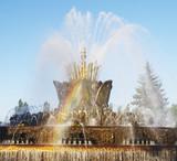 "Fountain ""Stone flower"", ENEA , Moscow, Russia."
