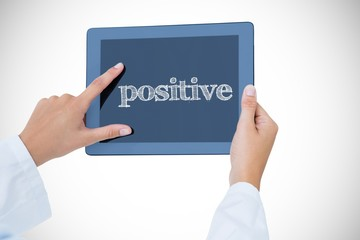 Positive against doctor using tablet pc