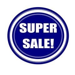 Super sale white stamp text on blueblack