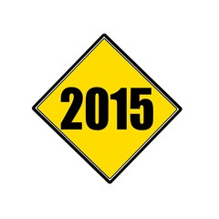 2015 black stamp text on yellow