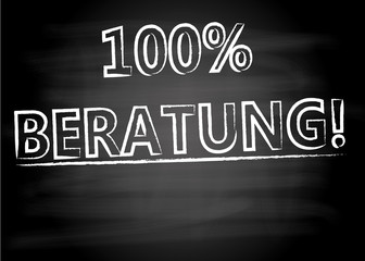 100%  Beratung