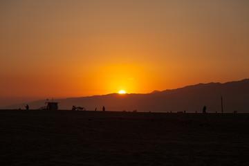 Sonnenuntergang Santa Monica
