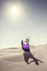 Dance in the desert