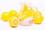 fresh lemon's water