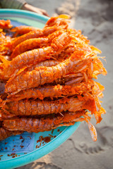 Cambodian battered lobsters