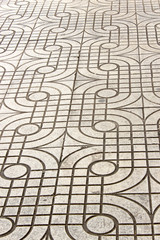 grunge line street cement tile