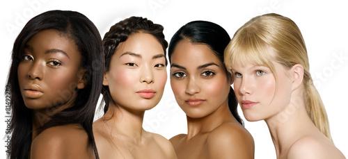 Leinwanddruck Bild Ethnic Beauty