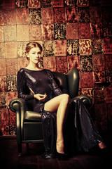 glamorous dress