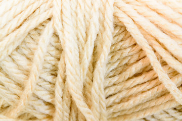 Cream yarn texture