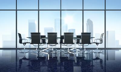 Meeting Room + Skyline