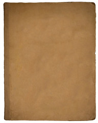 The texture of the old book cover.