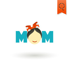 Happy Mothers Day Icon