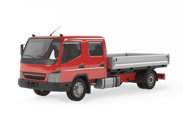 Cargo delivery vehicle. Tipping lorry
