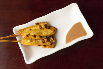 Chicken Satay Spicy Peanut Sauce