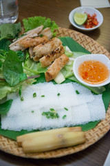local food in Vietnam