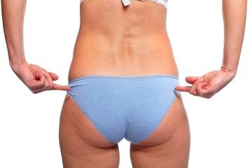 Woman butt.