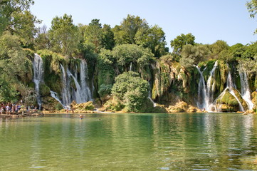 Kravice waterfalls in Bosnia Herzegovina